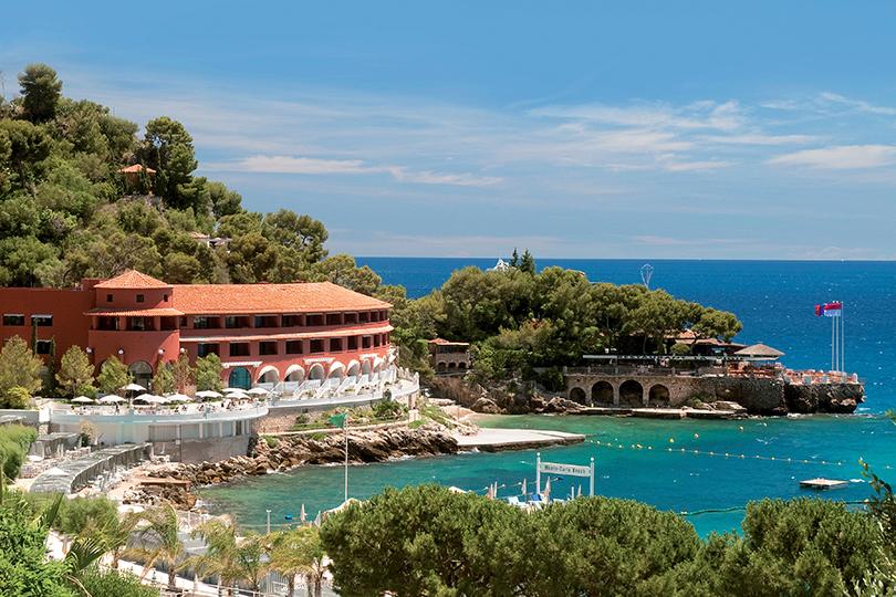 Ресторан LaVigie вотеле Monte-Carlo Beach