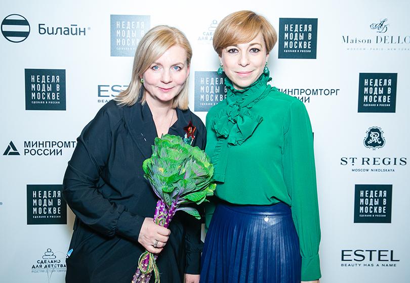 Style Notes: «предчувствия» в коллекции Victoria Andreyanova. Виктория Андреянова и Марианна Максимовская