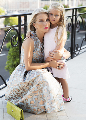 Наталья Валевская с дочерью Натальей-Федерикой