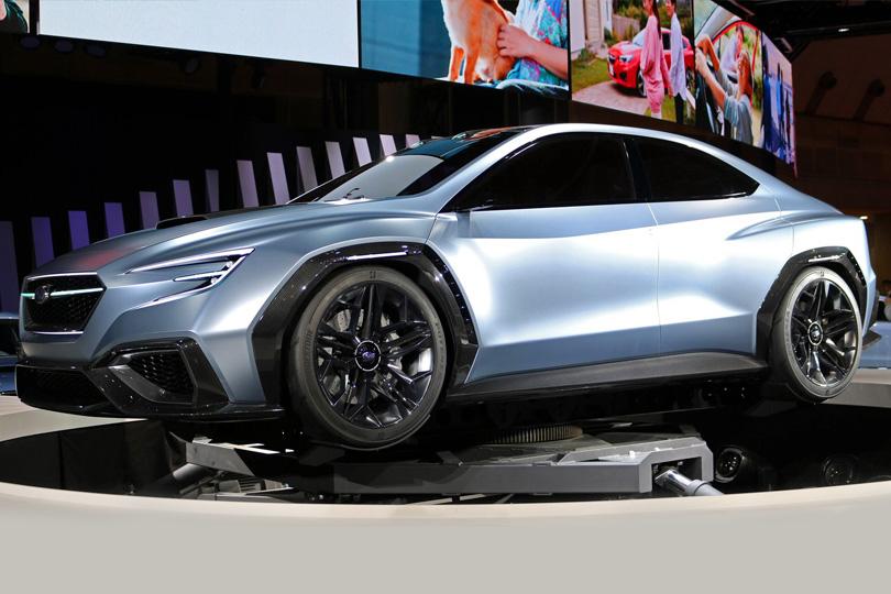 Авто сЯном Коомансом. Токийский автосалон: самые свежие новости сродины Годзиллы. Subaru Viziv Performance