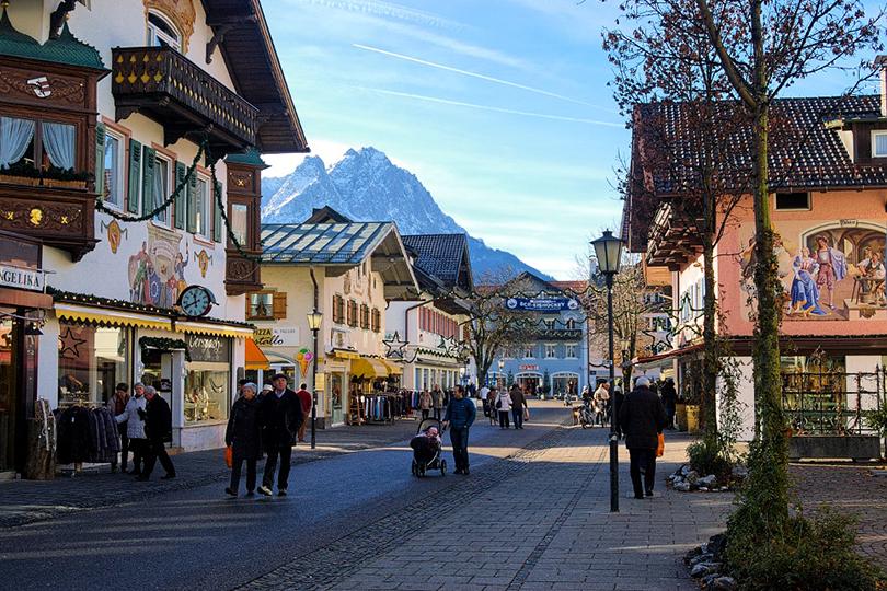 Планы налето: живописные города Европы, которые можно обойти пешком. Гармиш-Партенкирхен, Германия