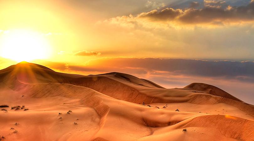 Пустыня Абу-Даби, ОАЭ