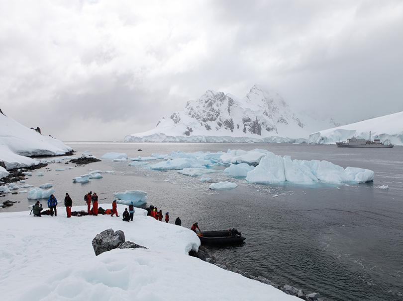 В2017 году вантарктическую экспедицию отправятся десятки современных художников