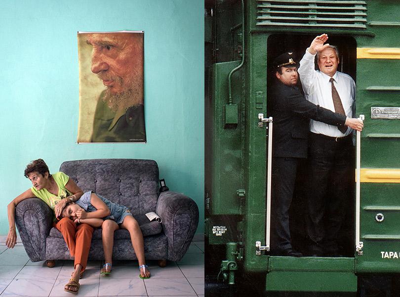 Кристина Кормилицына. Куба скорбит оФиделе. Декабрь 2016 Павел Кассин. Президент России Борис Ельцин.1997
