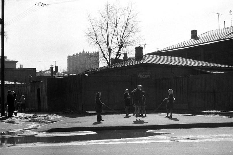 Прыгалка. Староалексеевская улица. 1950-е
