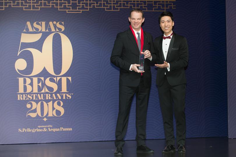 Ричард Эккебус (Amber, Гонконг, #7)— лучший ресторан Китая