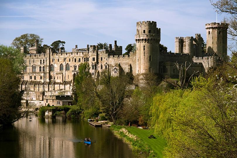 Живописные замки Великобритании. Уорикский замок