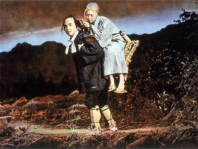 «Легенда оНараяме»/ Narayama bushikō (1983, Япония) Сёхэй Имамура  «Золотая пальмовая ветвь»
