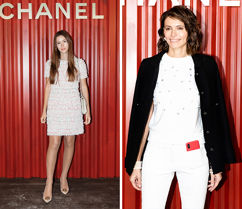 Показ Chanel Métiers d'art Paris— Hamburg вМоскве. Дина Немцова. Анна Брострем