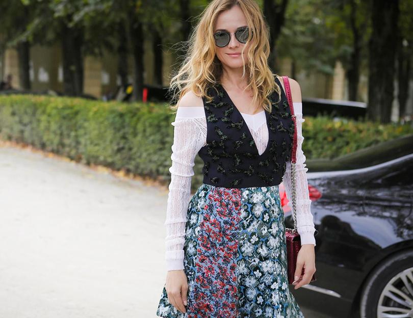 Style Notes: первая коллекция Марии Грации Кьюри для Dior. Диана Коюгер