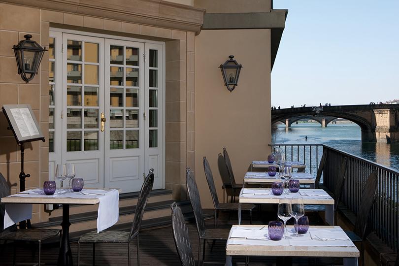 Идея науикенд: встреча сискусством вофлорентийском Hotel Lungarno