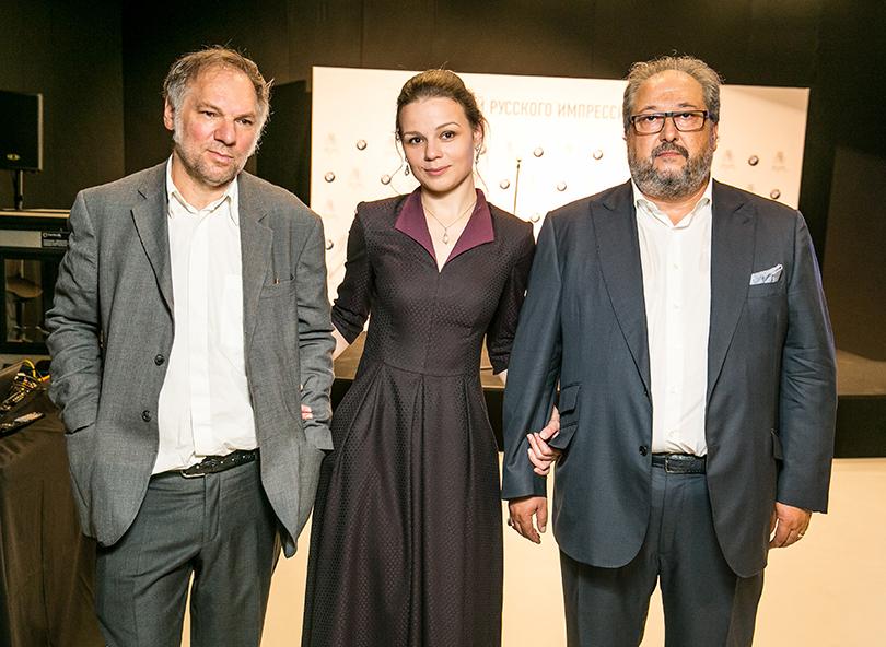 Валерий Кошляков, Юлия Петрова и Борис Минц