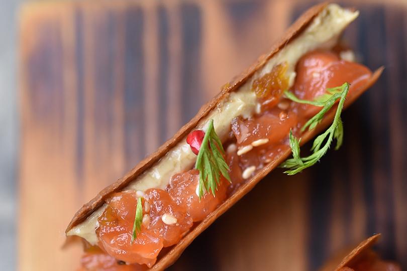 Гастрономический код Филиппин: изучаем лучшие рестораны Манилы. Тончайшие тосты изкокоса икунжута, соединенных тартаром изтунца, муссом изфуа-гра иарахисовой крошкой