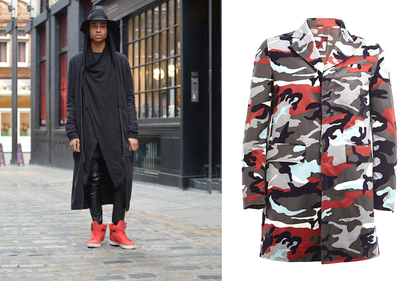 Men inStyle: как носить самые актуальные пальто весеннего сезона. Пальто Moncler Gamme Bleu