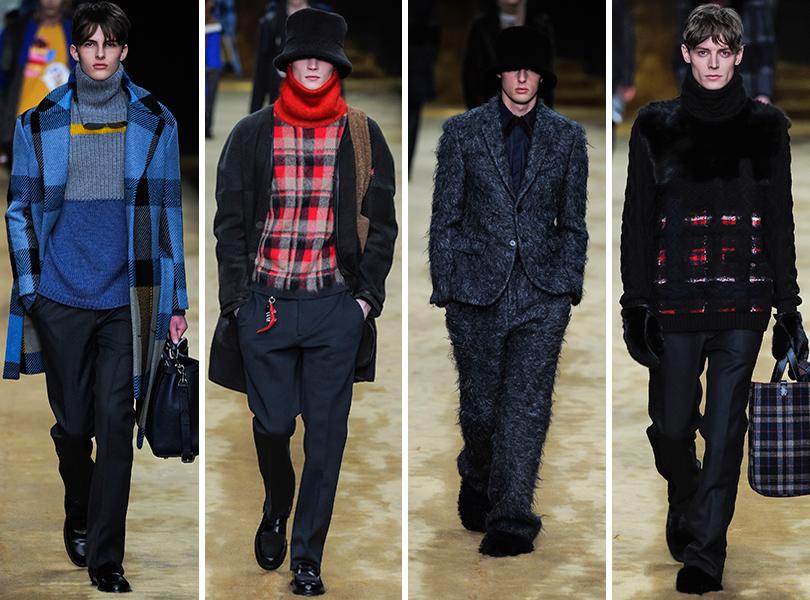 Первый план — лучшие показы на Неделе мужской моды в Милане: Fendi