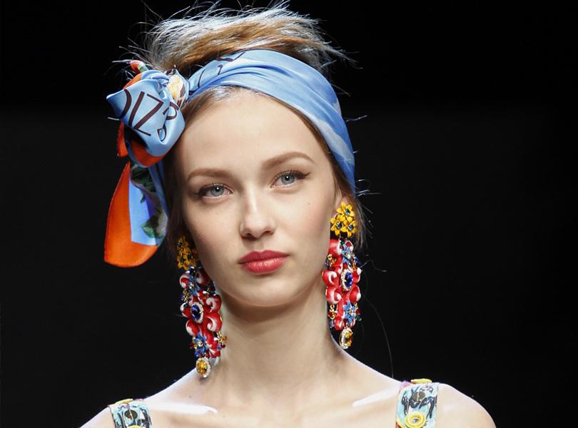 Style Notes: какую бижутерию выбрать этим летом? Dolce & Gabbana (весна-лето 2016)