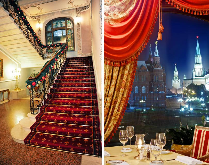 Новый год в отелях Москвы: «Националь»