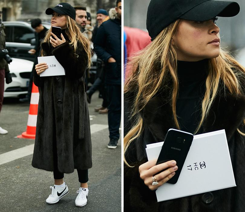 Street Style: эксклюзивные фотографии совторого дня Недели кутюра вПариже вобъективе ИноКо. Мирослава Дума