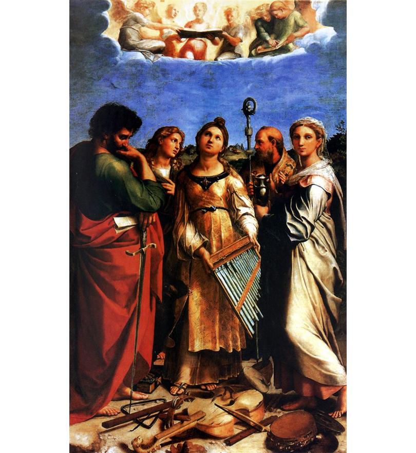 Art & More: по следам Рафаэля. «Экстаз Святой Цецилии», Национальная пинакотека Болоньи