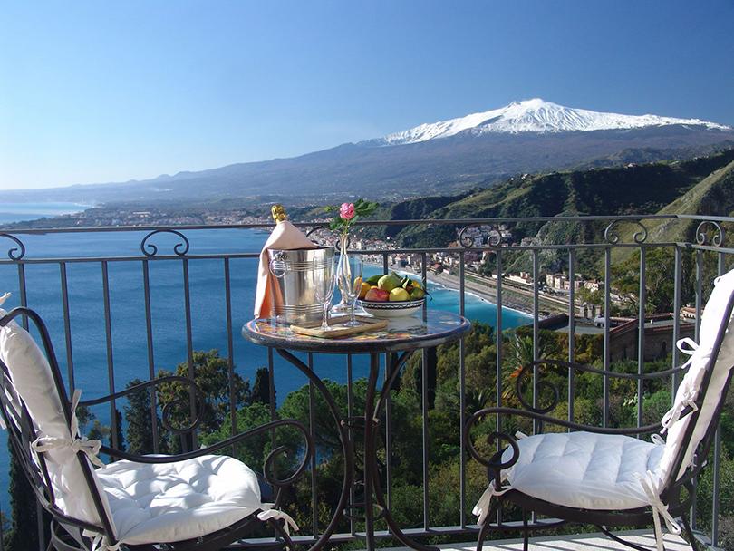 Celebrity Travel. Дарья Субботина: романтическое сердце Сицилии— Belmond Villa Sant' Andrea