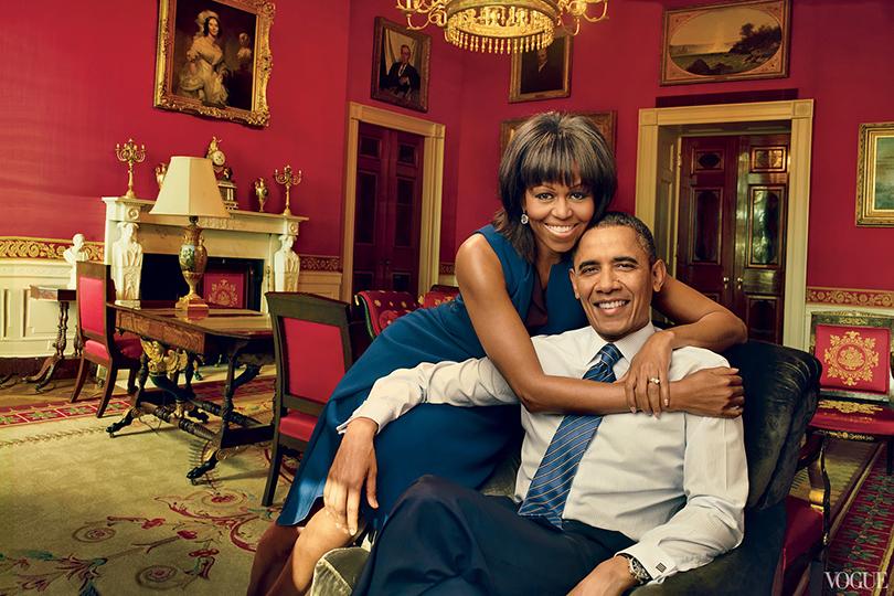 Психология успеха: Энни Лейбовиц. Как стать знаменитым фотографом. Мишель и Барак Обама для Vogue US