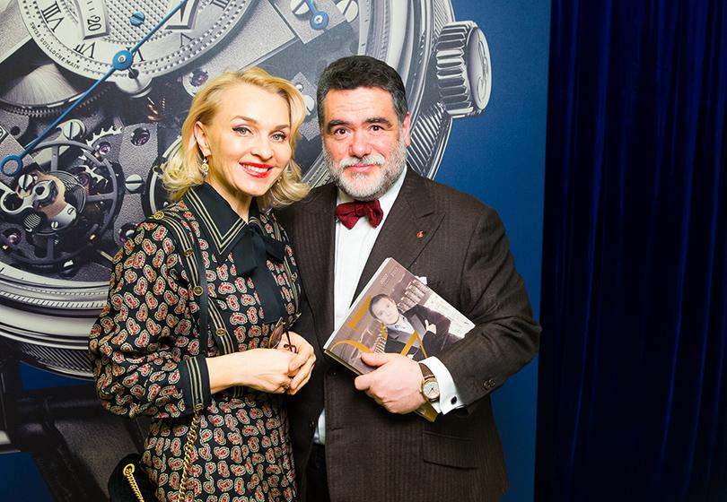 Михаил Куснирович с супругой