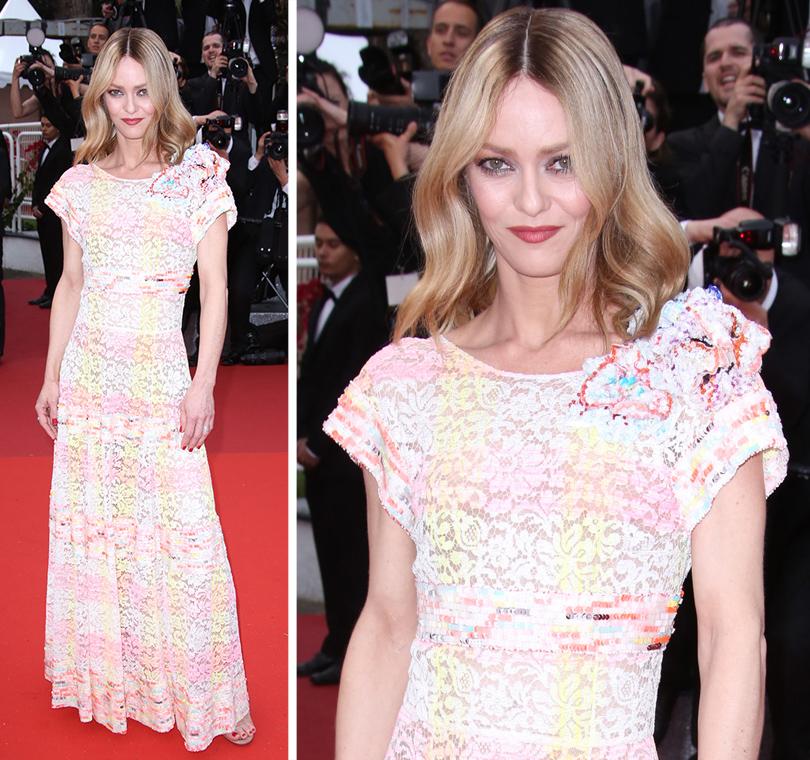 Cannes 2016: самые яркие звездные образы на церемонии открытия кинофестиваля. Ванесса Паради вChanel