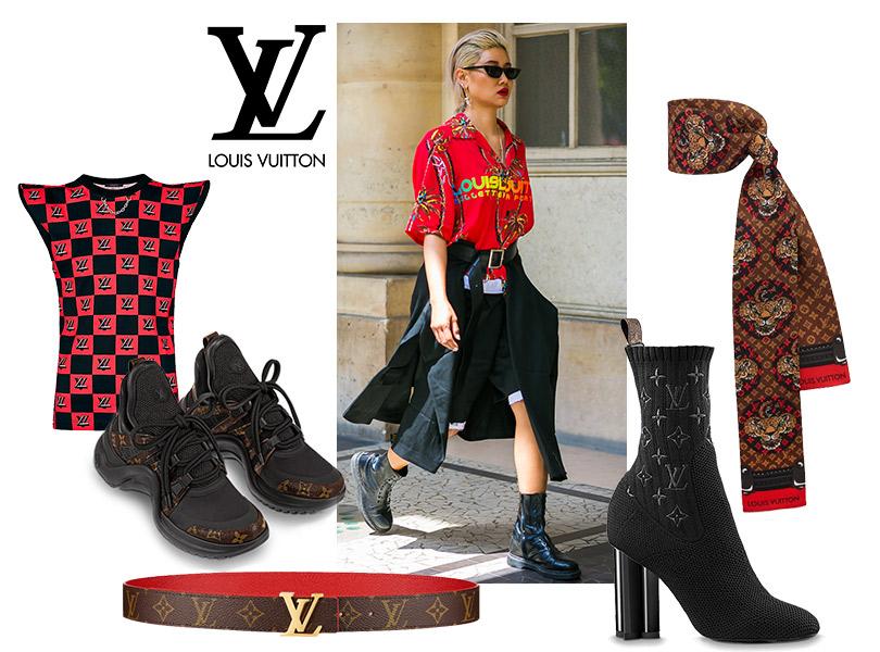 Как это носить: возвращение логомании. Louis Vuitton