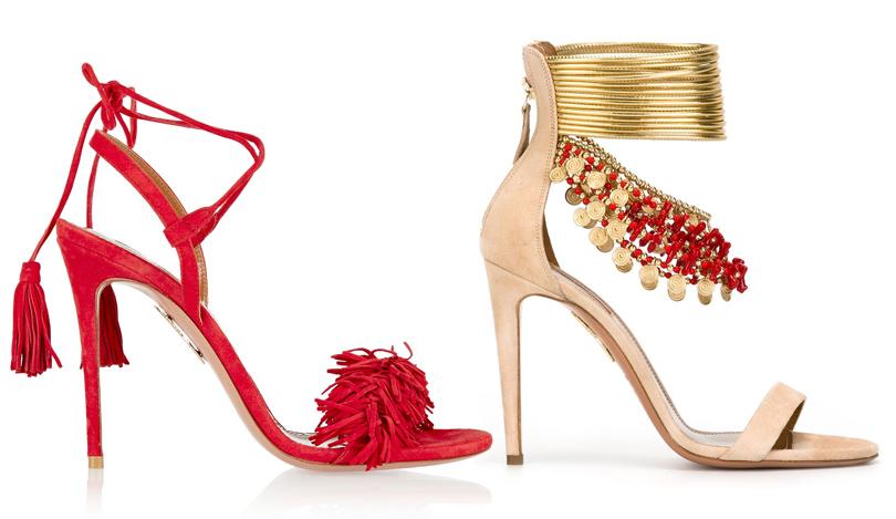Shoes & Bags Blog: почему fashionistas выбирают Aquazzura? Причина №5: летняя коллекция