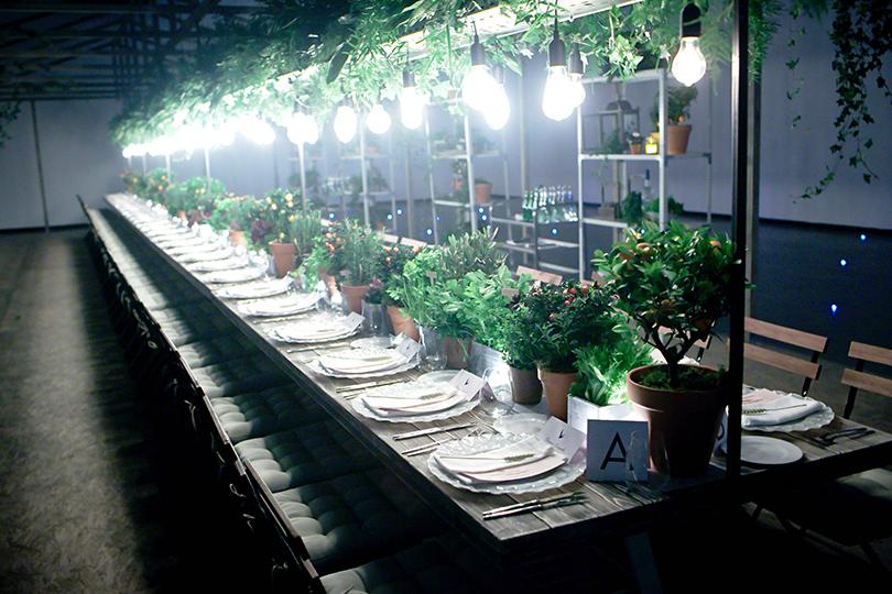 Гастрономический ужин Grey Goose L'Orangerie в Москве