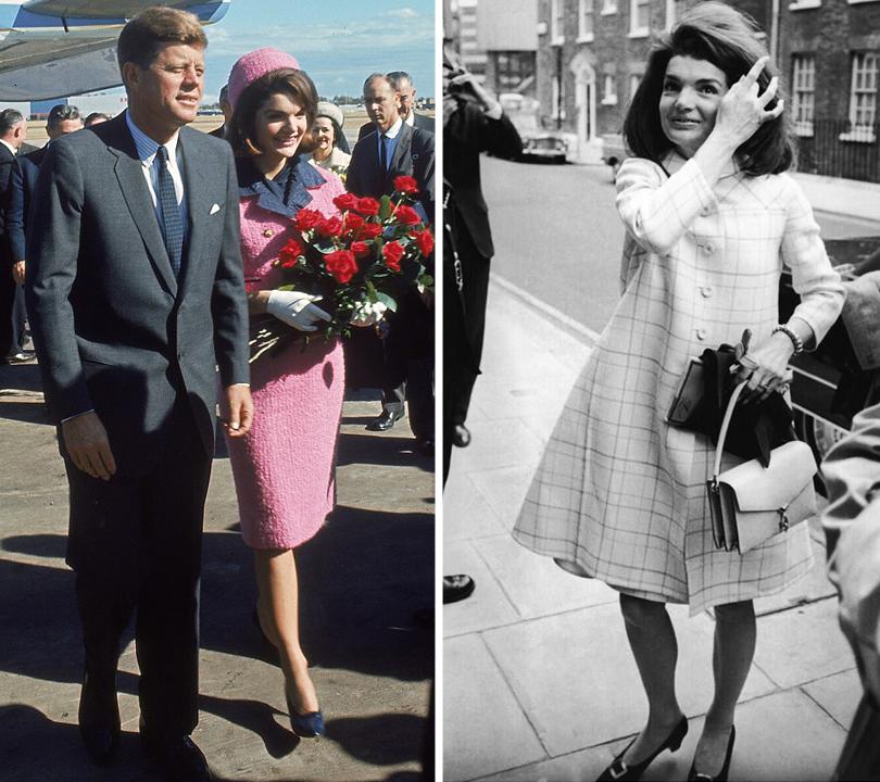 Style Notes: Натали Портман в роли fashion-иконы Джеки Кеннеди. Эволюция стиля Жаклин. Даллас, 1963г. День убийства Джона Кеннеди. 1966г.