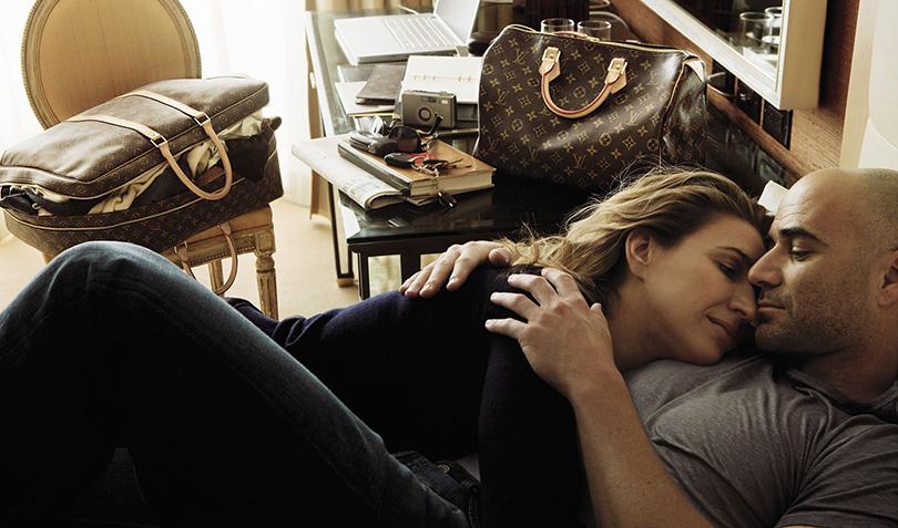 Андре Агасси иШтеффи Графф вкампании Louis Vuitton (Энни Лейбовиц, 2009)