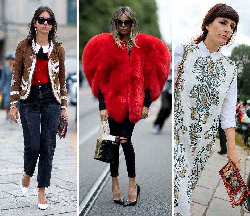 Street Style: уличный стиль на Неделе моды в Милане. Наталья Гольденберг. Стилист Эрика Пелосини. Модный редактор Сара Москини