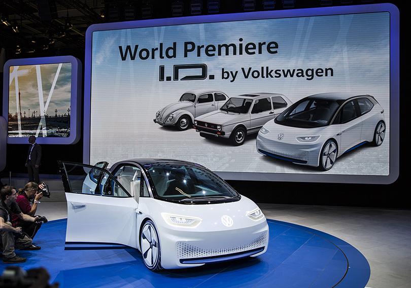 Авто с Яном Коомансом: что посмотреть на Парижском автосалоне. Volkswagen ID