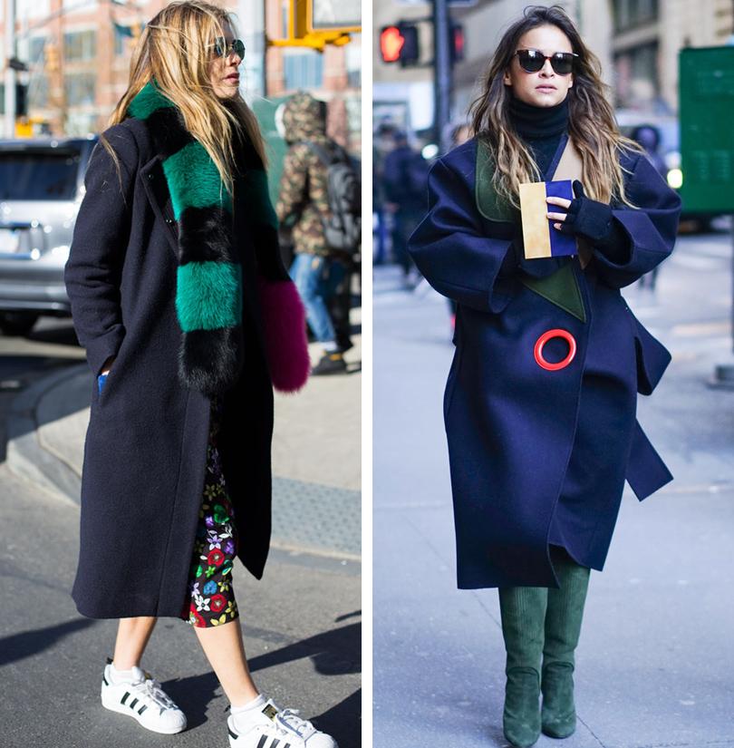 Лучшие образы на Неделе моды в Нью-Йорке: Челси Лиланд, Мирослава Дума