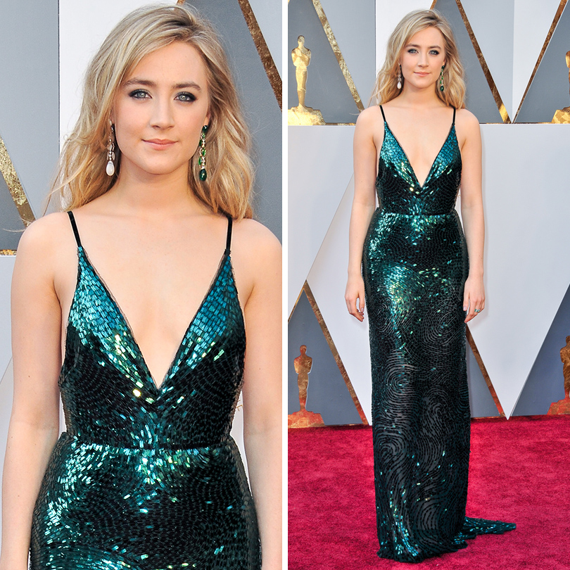Oscars Special 2016: Сирша Ронан в Calvin Klein Collection