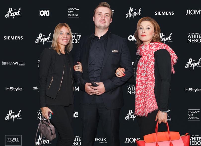Art &More: немного солнца взимней Москве. Интервью ссоздательницами проекта Pop-Up Gallery Ottepel. Андрей Шемякин (S.E.A Company), телеведущая Елена Ищеева