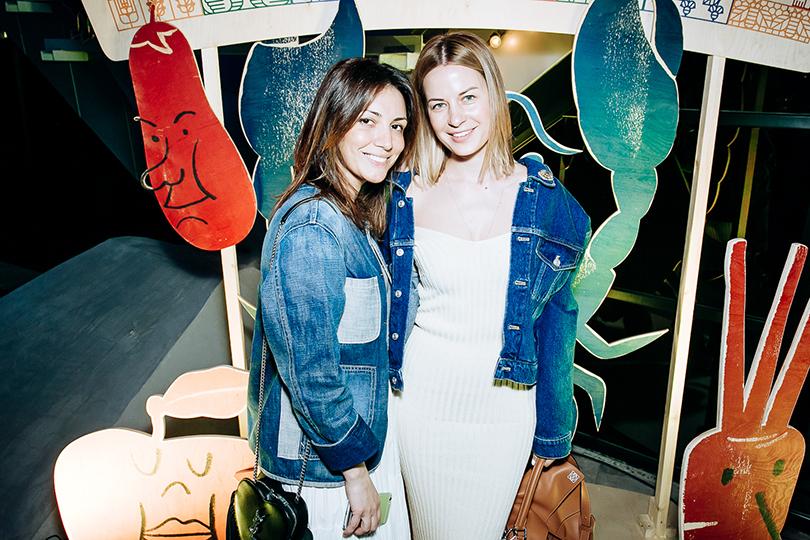 Открытие обновленного пространства Даниловского рынка: Карина Ошроева и Татьяна Азатян