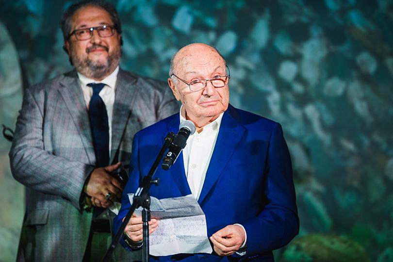 Член попечительского совета музея Михаил Жванецкий