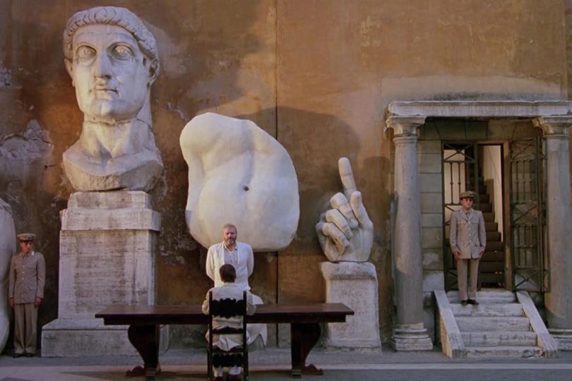 Дом как музей: как оформить интерьер античными скульптурами. «Живот архитектора» Питера Гринуэя