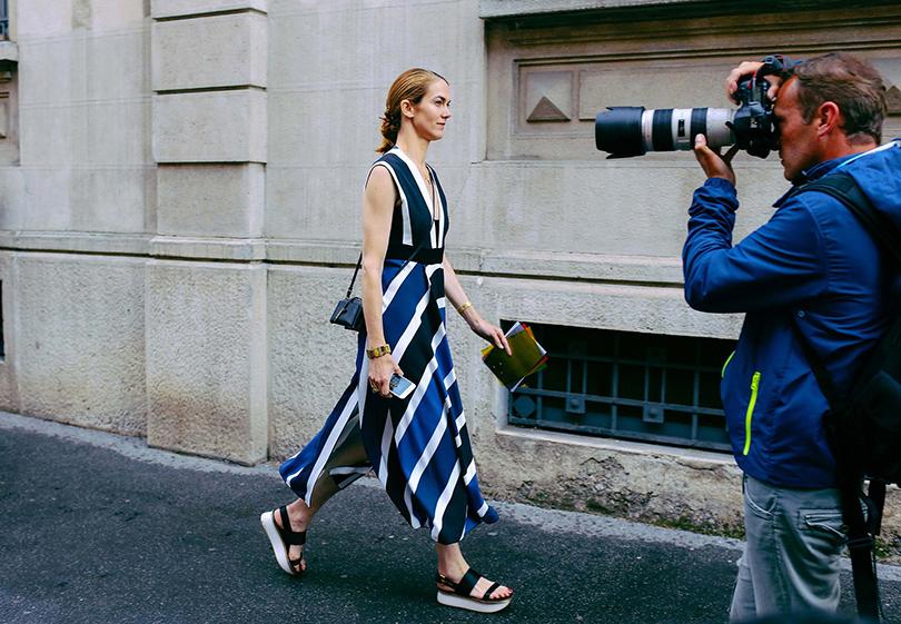 Street Style: лучшие образы на неделях мужской моды. Джей Джей Мартин