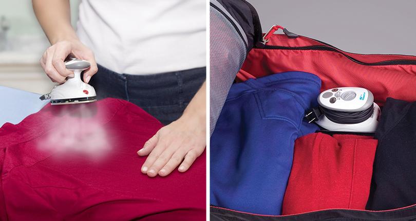Идея подарка: надувные санки, эспрессо-самовар идругие практичные находки для путешественников. Портативный утюг Steamfast
