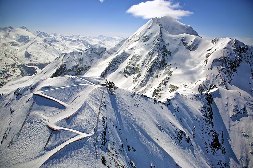 Где кататься на горных лыжах в мае: Лез-Арк, Франция