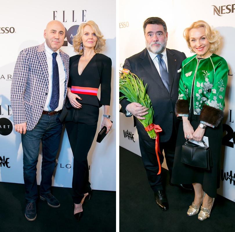Иосиф Пригожин и Валерия. Михаил Куснирович и Екатерина Моисеева
