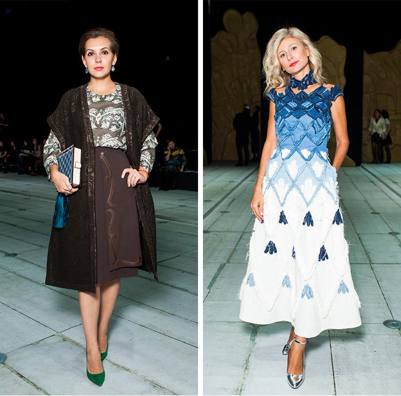 Style Notes: показ Alena Akhmadullina весна-лето 2017. Елизавета Минаева. Карина Варивода