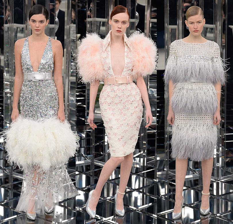 Style Notes: нежность иблеск— показ Chanel наНеделе высокой моды