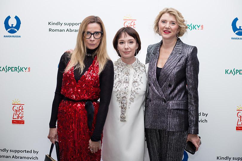 Вероника Белоцерковская и Чулпан Хаматова
