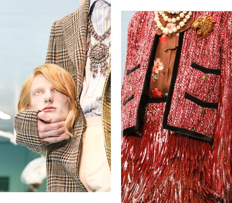 «Все страньше истраньше»: мистика иэклектика напоказе Gucci вМилане