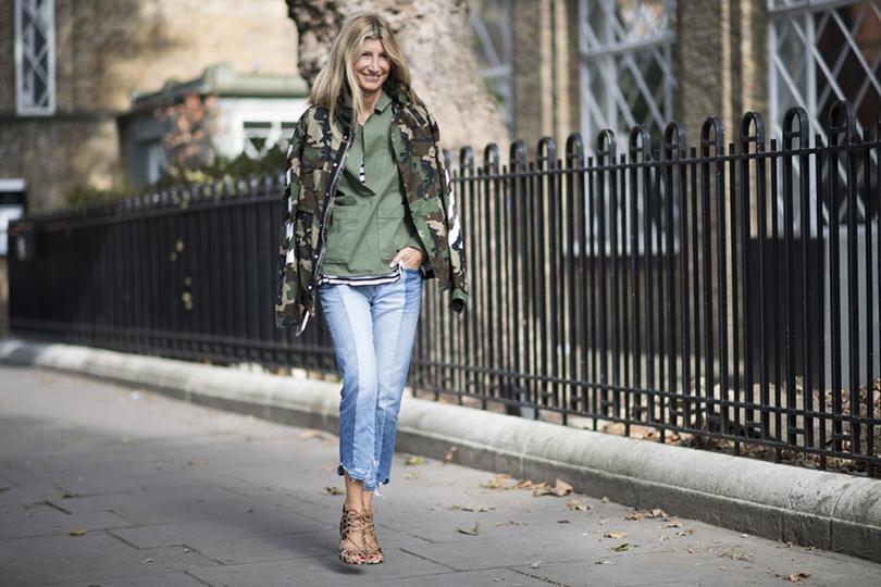 Street Style: лучшие образы на Неделе моды в Лондоне. Сара Рутсон