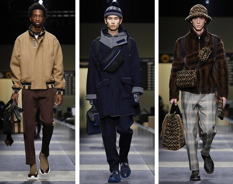 Все самое интересное снедель мужской моды: Fendi